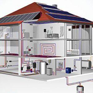 Hausversorgung mit Solar
