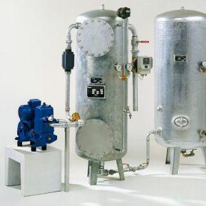 Osna - Pumpen mit Aufbereitungsbehältern