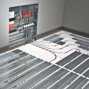 Verlegung Fußbodenheizung