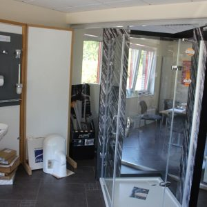 Ausstellung der Dusche